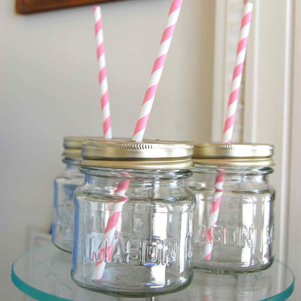 Mason Jar with Daisy Lid