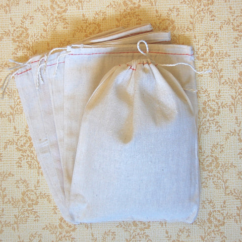 Cotton Drawstring Sacks