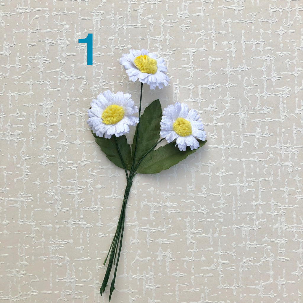 Small Daisy Millinery Flower