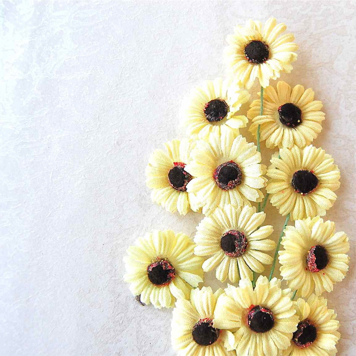 Daisy Spray, Vintage Millinery Flower