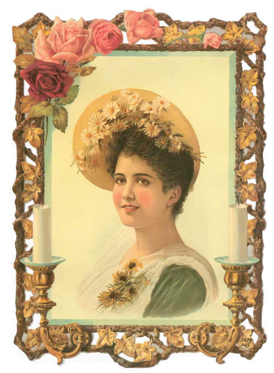 Scrapbook Pictures, Victorian Woman