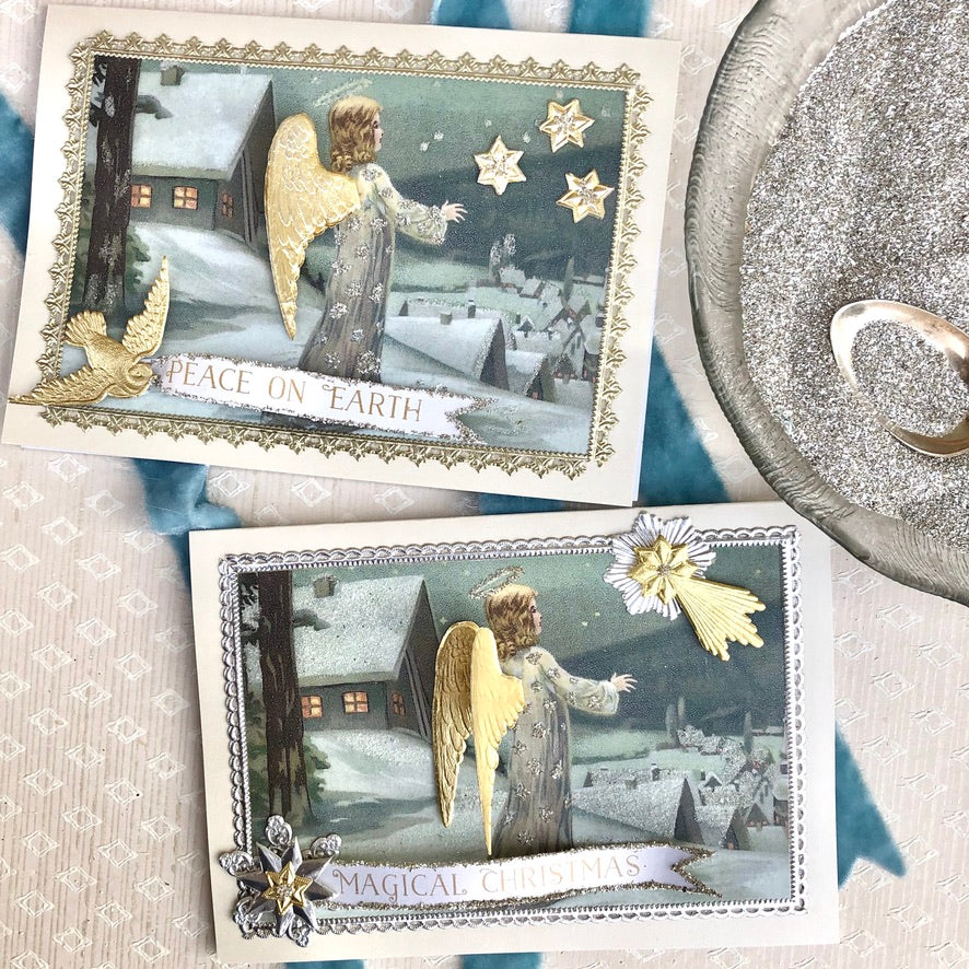 Winter Angel Card Making