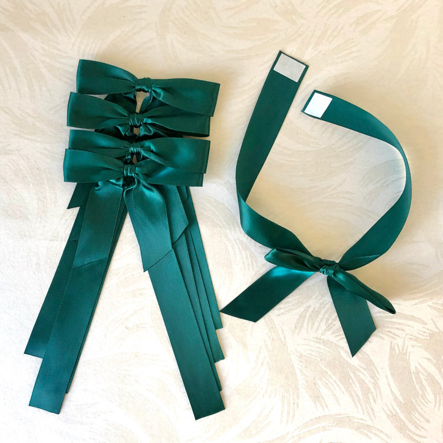 Satin Ribbon Bows - Gift Wrap