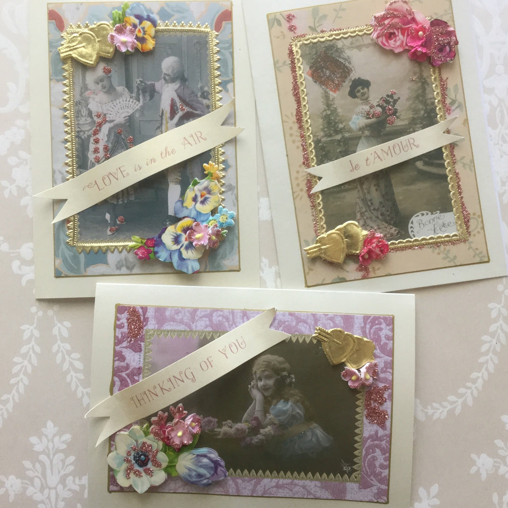 French Valentine Card Kit