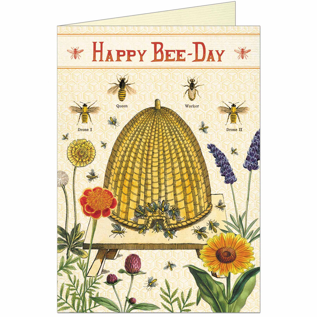 Happy Bee-Day Greeting Card