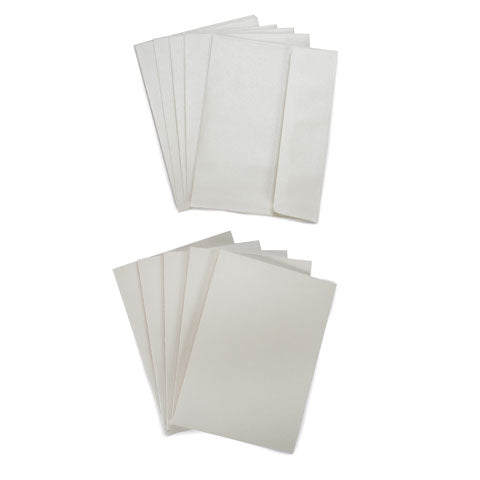 Blank Tent Card and Envelope Sets