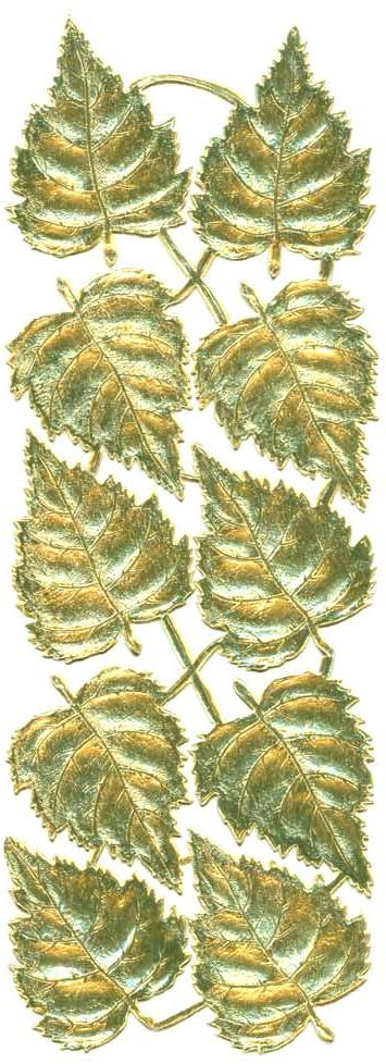 Gold_Dresden_Birch_Leaf_10piece