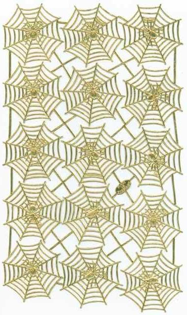 Spider Web, Dresden Die-Cuts