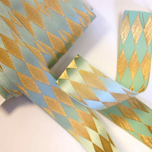 Harlequin-Jacquard-Ribbon-Green