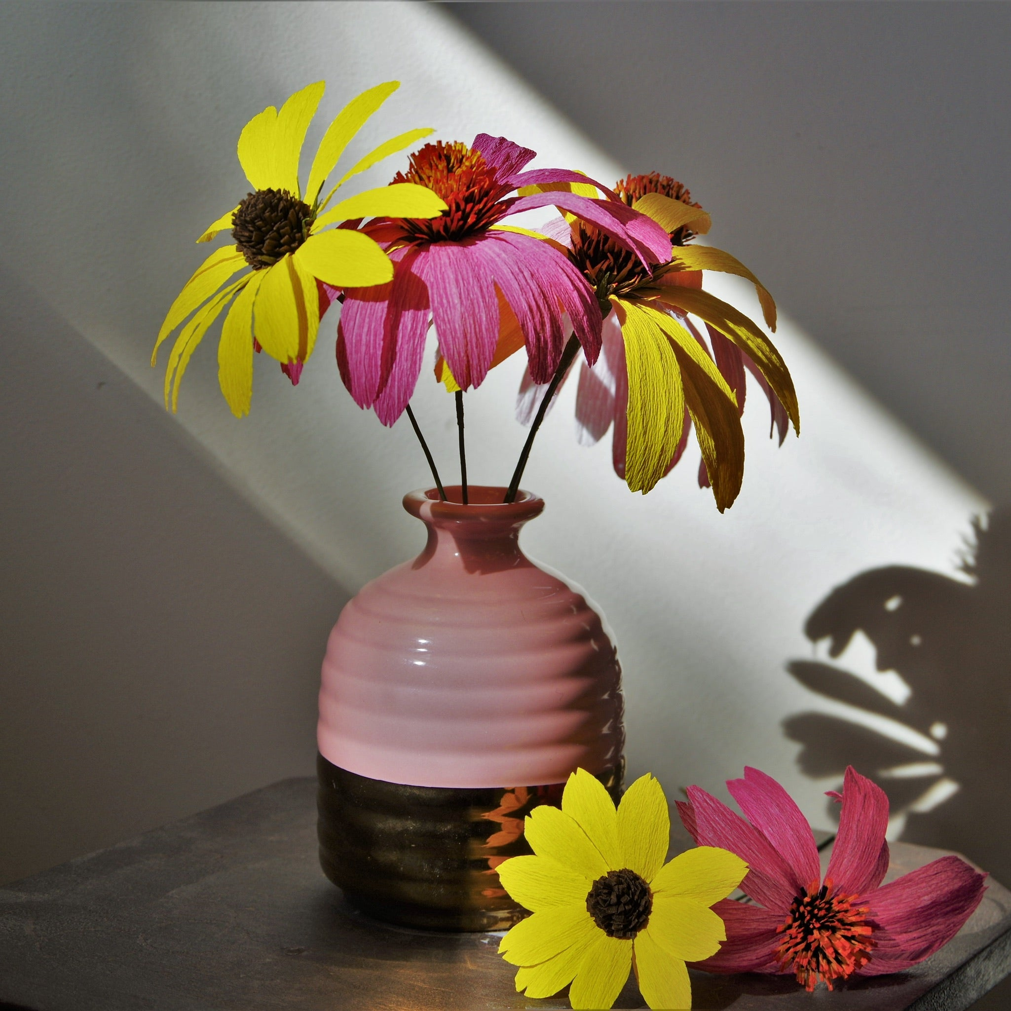 Paper Coneflower & Black-Eyed Susan - In Studio Workshop