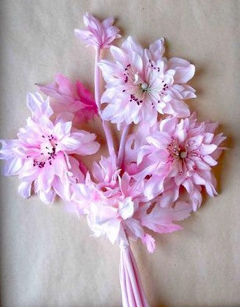 Dahlia Spray, Vintage Millinery Flower