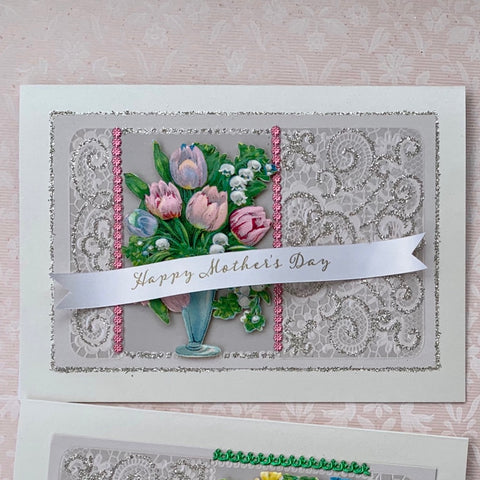 Vase of Flowers Card Kit