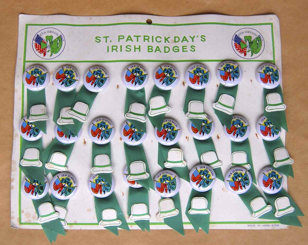 St Patrick's Day Badge