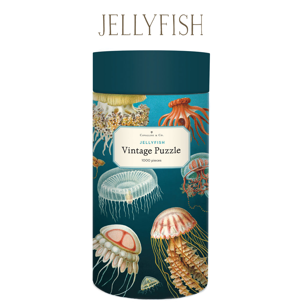 Jellyfish Vintage Puzzle, by Cavallini