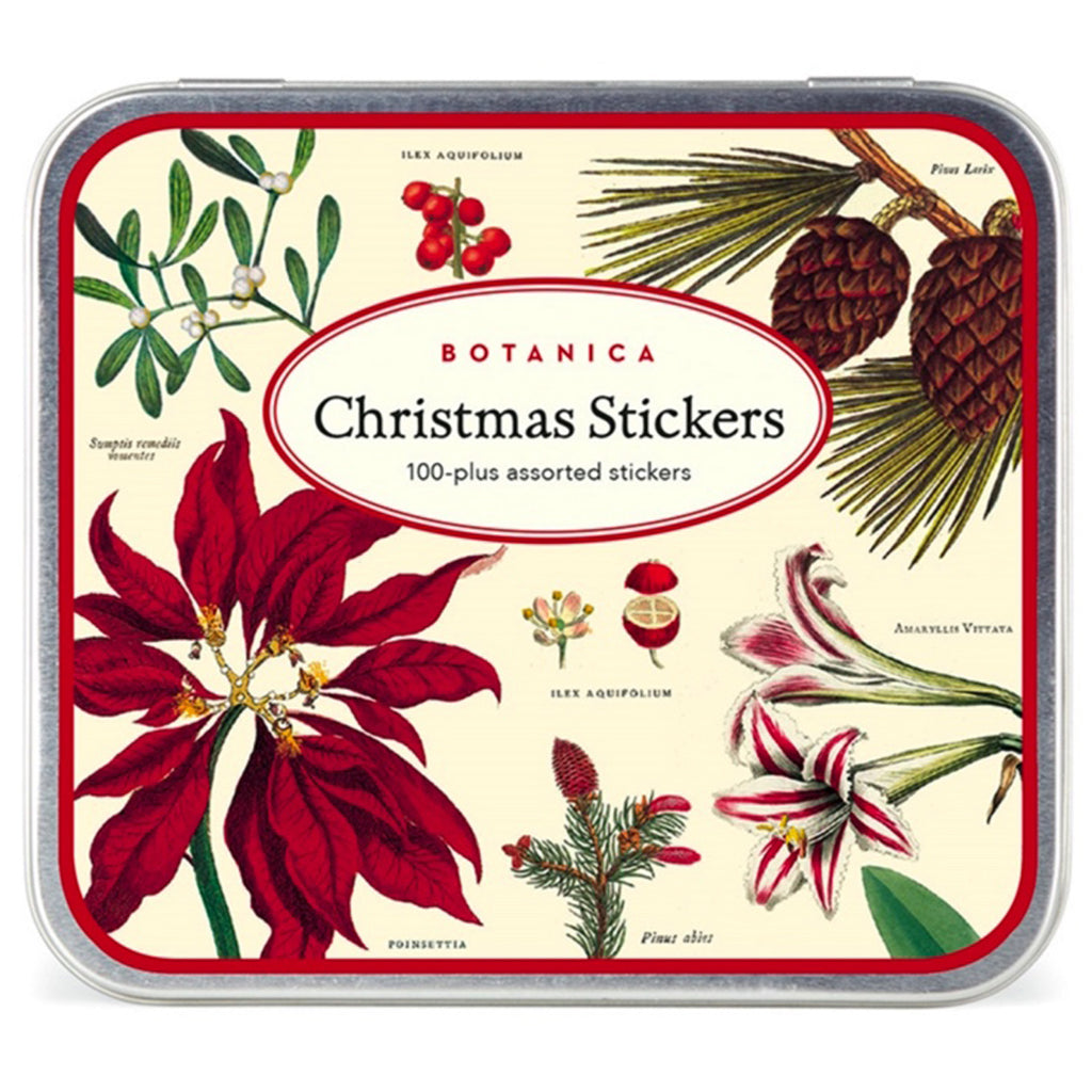 Botanica Vintage Christmas Stickers