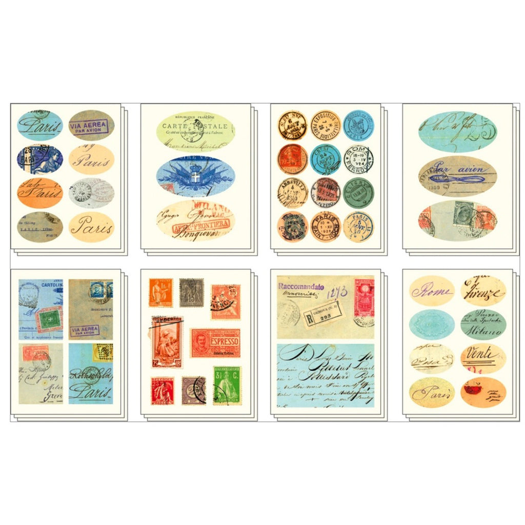 Vintage Ephemera Stickers