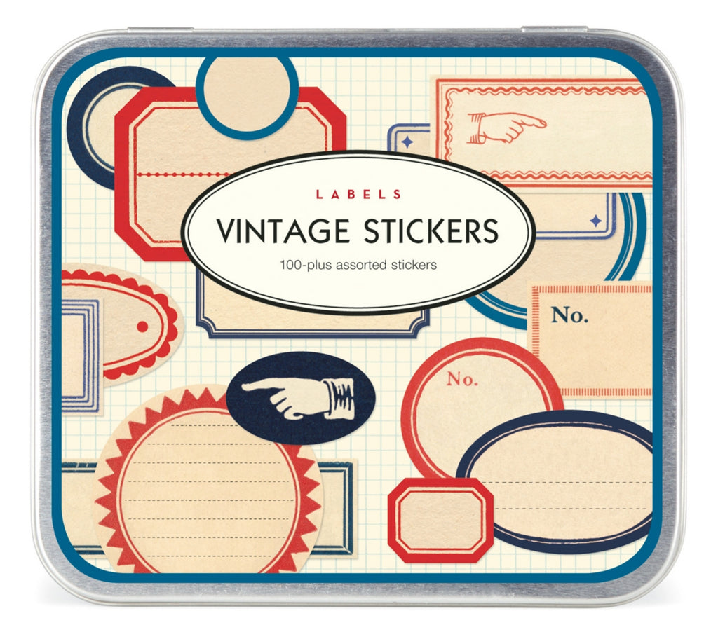 Labels, Vintage Stickers