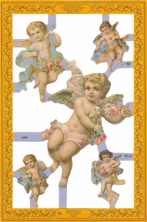 Scrapbook Pictures, Cherubs
