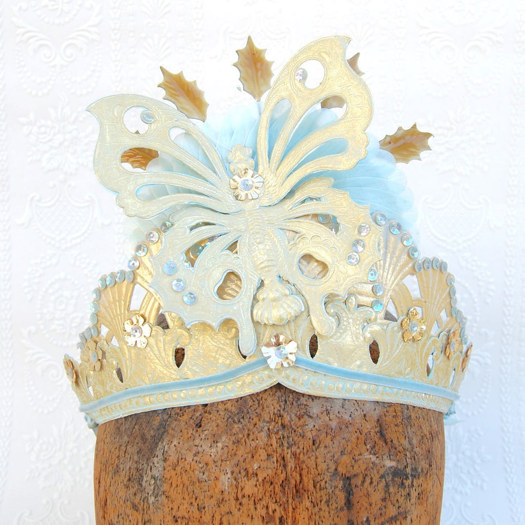 Madam Butterfly Tiara Dresden Crown