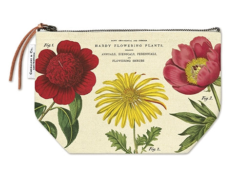 Botanica Canvas Zip Pouch