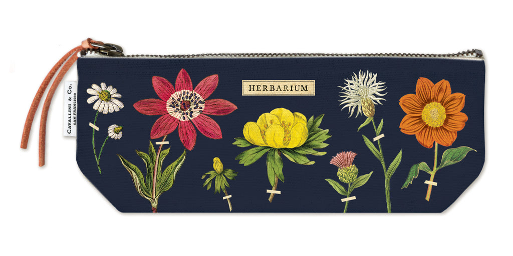 Herbarium Mini Canvas Zip Pouch