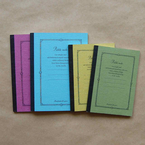 Petite Note Bound Premium Notebooks