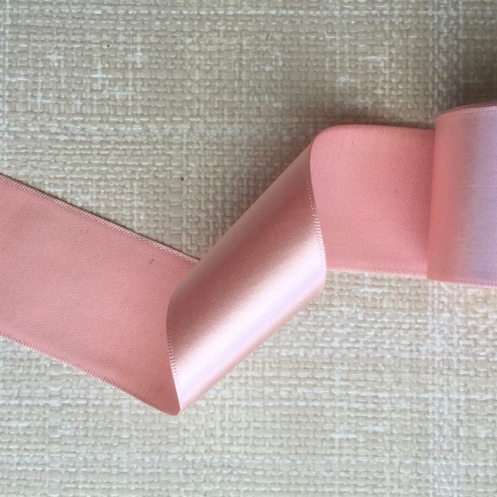 Vintage Single Sided Silk Satin Ribbon