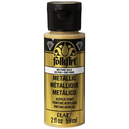FolkArt Metallic Acrylic Paint