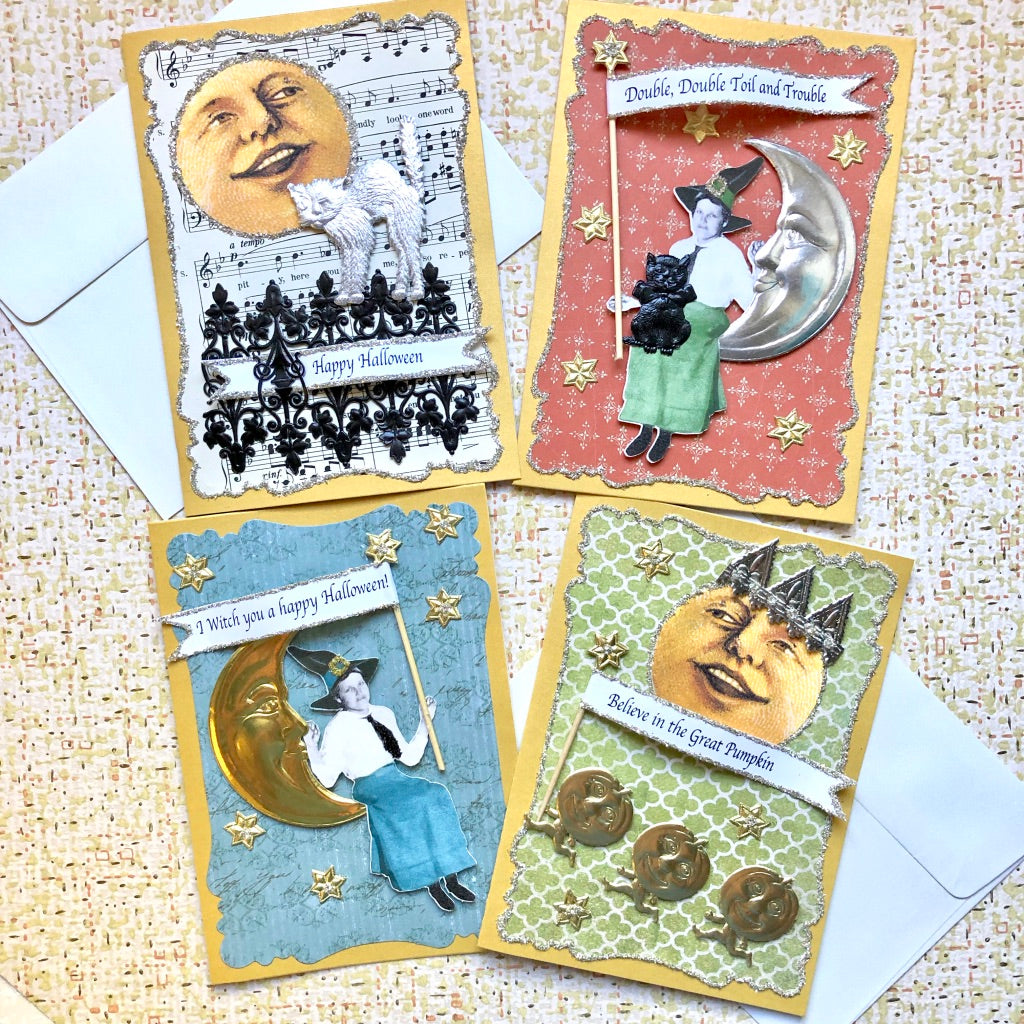 Halloween Moon Card Kit