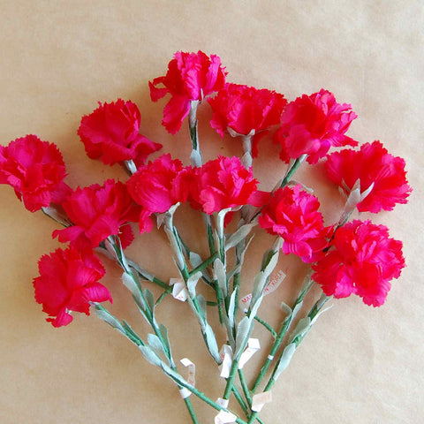 Carnations, Millinery Flowers
