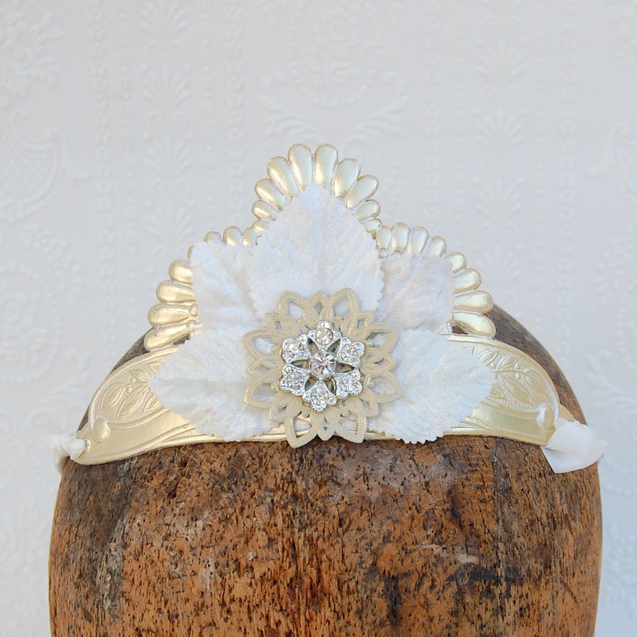 Regal Embossed Tiara