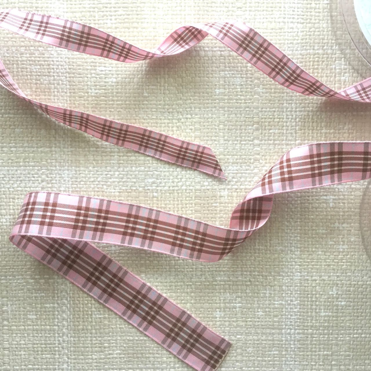 Plaid Taffeta Ribbon