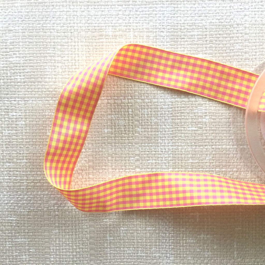 Colorful Check Ribbon