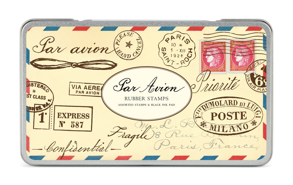Par Avion -  Rubber Stamp Set