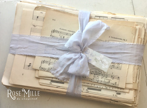Antique Sheet Music Bundle