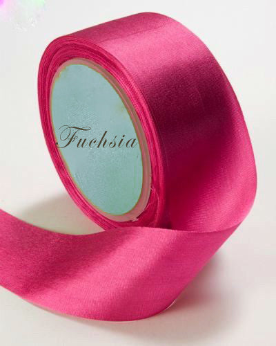 Silk Ribbon, Fuchsia, pink, hot pink