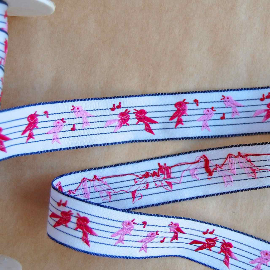 Songbird Jacquard Ribbon