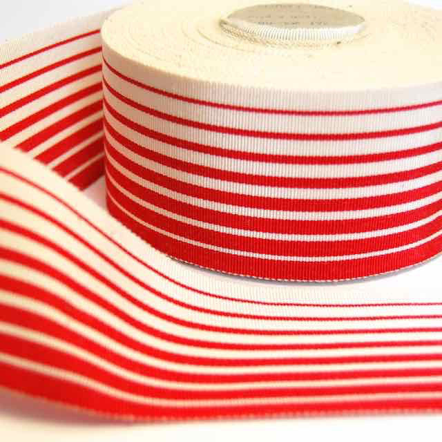 Vintage-Grosgrain-Ribbon-Orange-Stripes