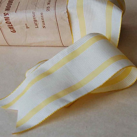 French Stripes Silk Ribbon