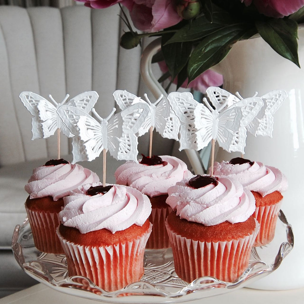 Butterfly Cup Cake Toppers