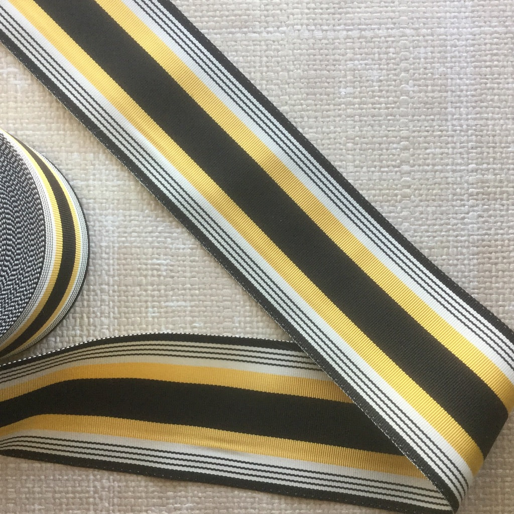 Striped Grosgrain Ribbon