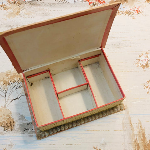 Sea Shell Victorian Sailors Sewing Box