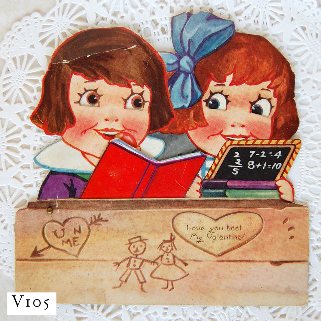 Vintage Valentines - One of a Kind