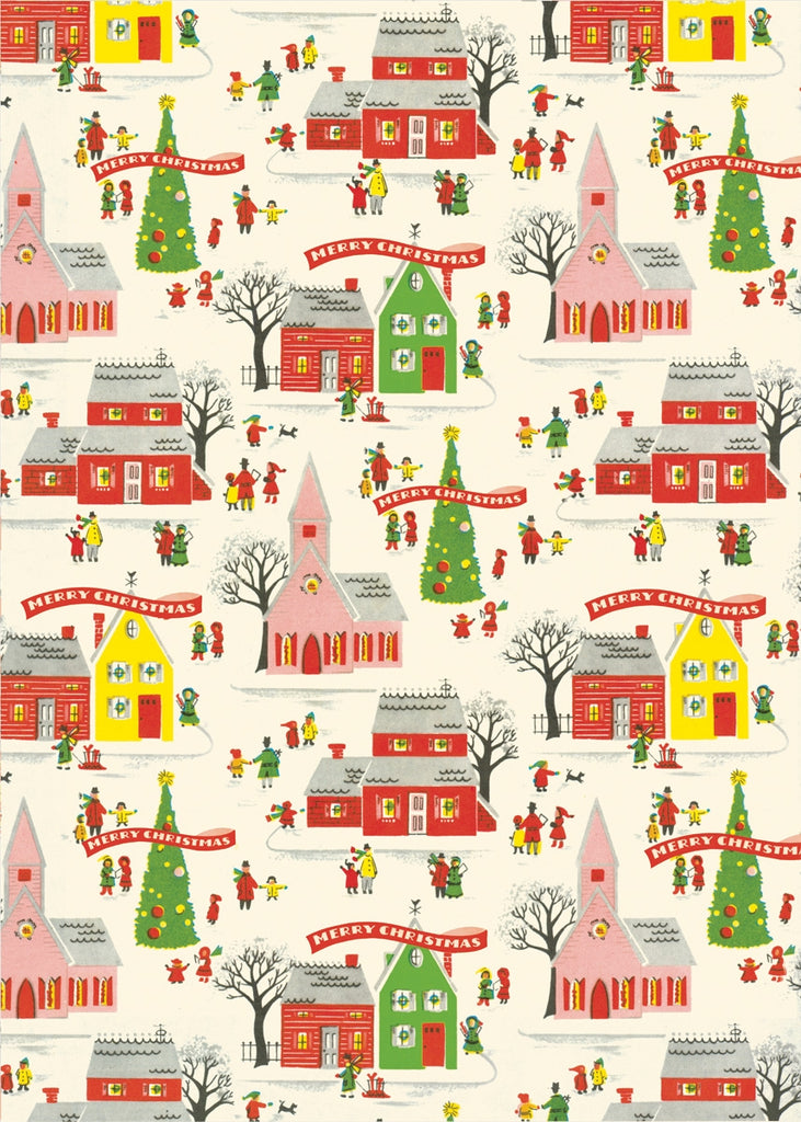 Christmas Cavallini Wrap & Posters