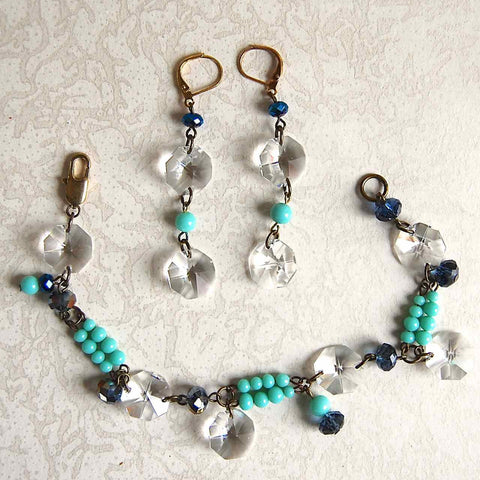 Moody Winter Bracelet & Earrings Kit