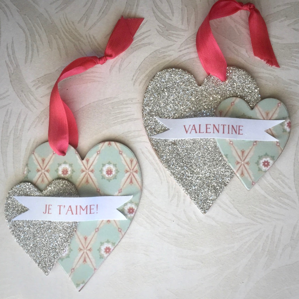 Twin Hearts Ornament Kit