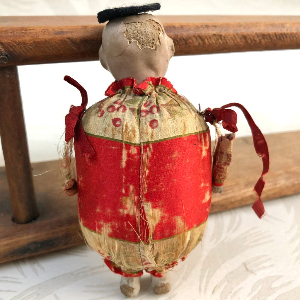 Antique China Man Pincushion