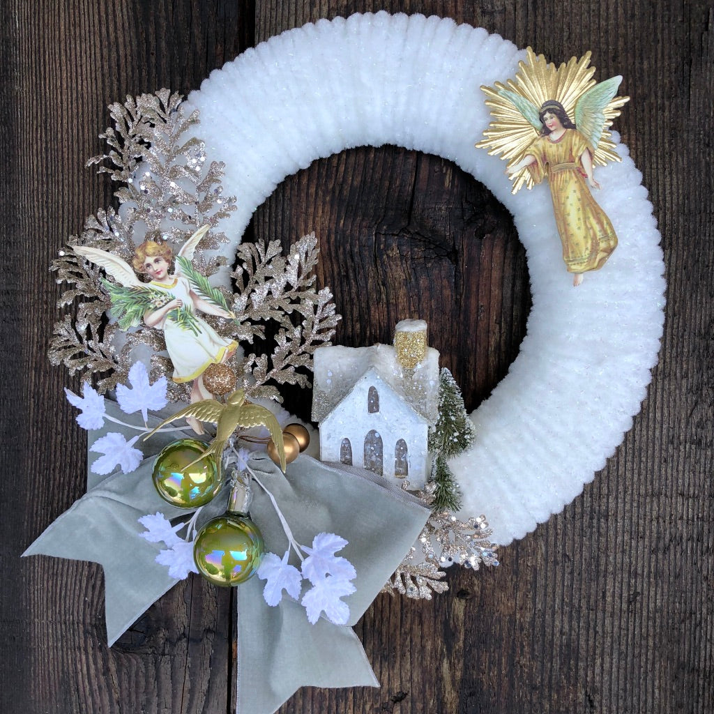 Vintage Chenille Wreath Workshop