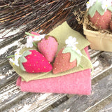 Wool Strawberries Stitch Kit