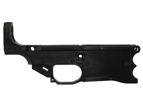 Polymer80 Warrhog 308 80% Lower with Jig System Black